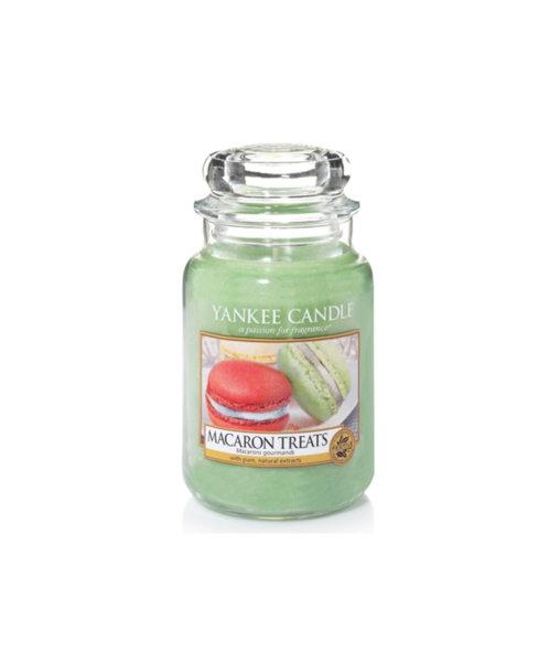 Yankee Candle ароматна свещ MACARON TREATS